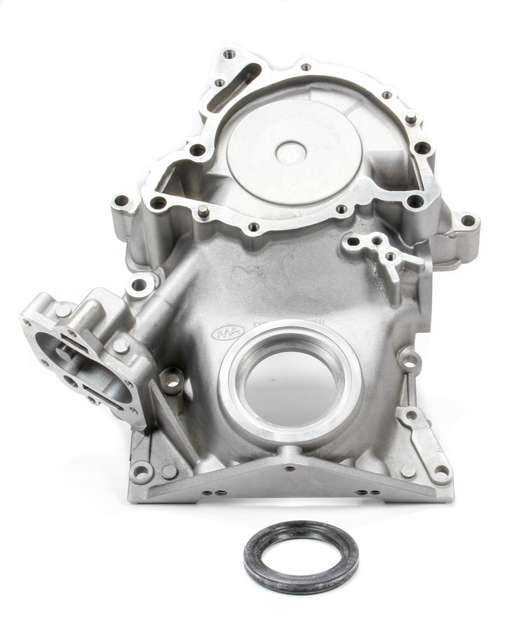 Pioneer 500231 Timing Cover, 1 Piece, Seal Included, Aluminum, Natural, Buick V6 / V8, Each