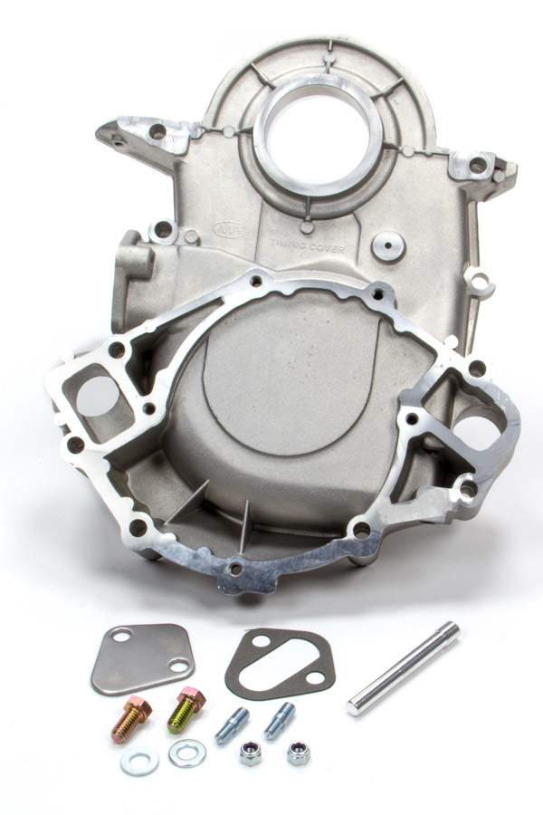Pioneer 500460 Timing Cover, 1 Piece, Aluminum, Natural, Big Block Ford, Kit