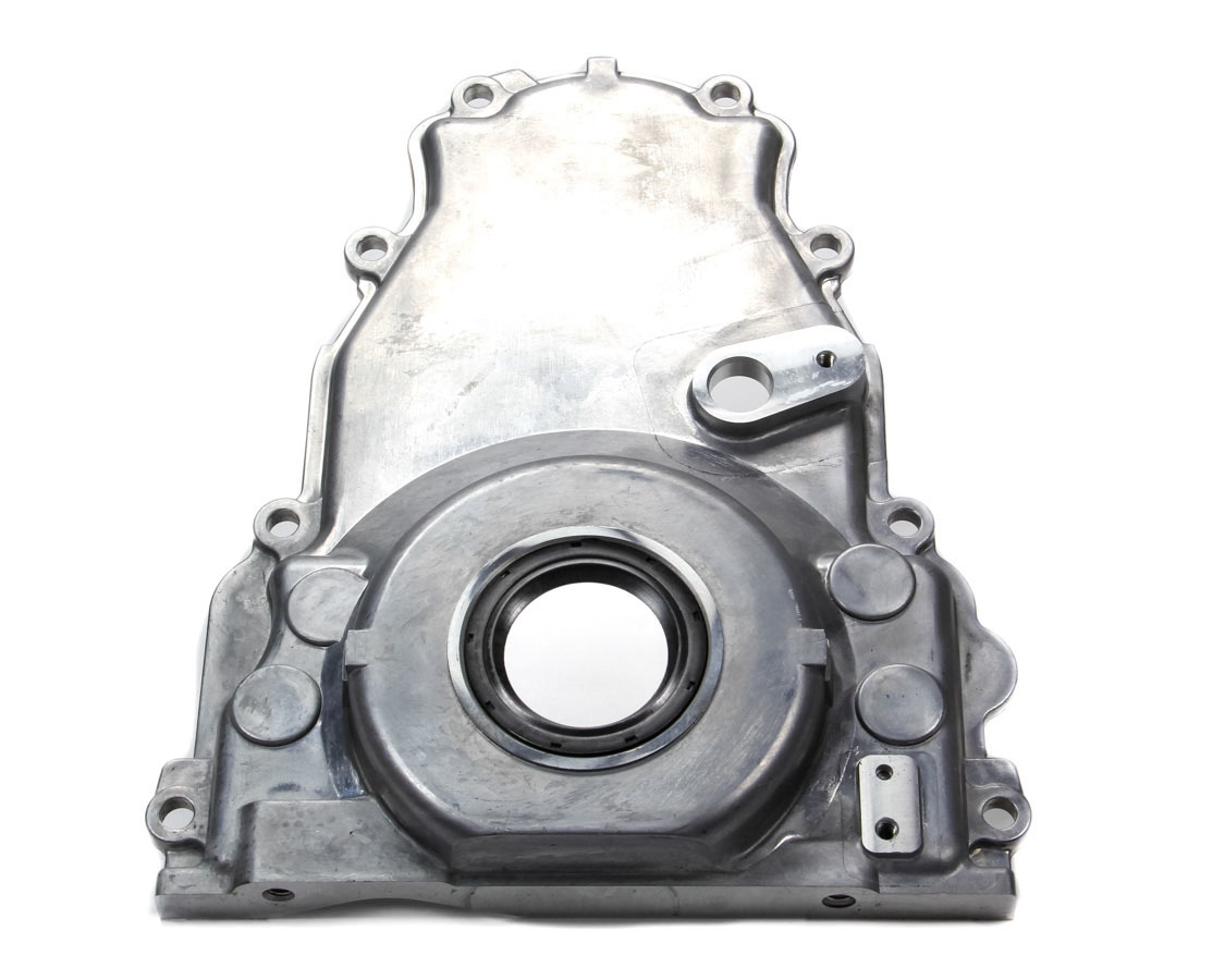 Pioneer 500LS2 Timing Cover, 1 Piece, Seal Included, Aluminum, Natural, GM LS-Series, Each