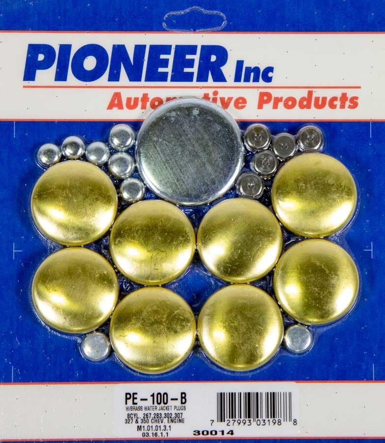 350 Chevy Freeze Plug Kit - Brass