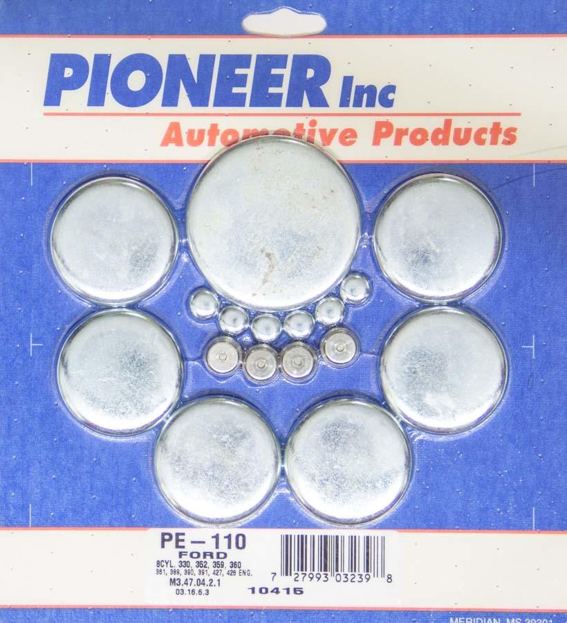 Pioneer 390 Ford Freeze Plug Kit