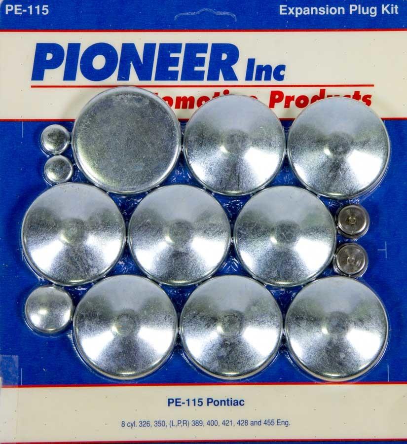 350 Pontiac Freeze Plug Kit
