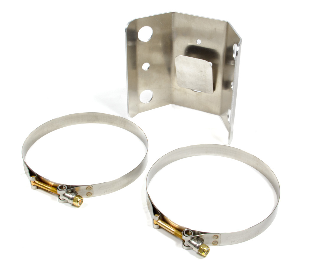 Oil Tank Mounting Brackt 1 Piece w/Clamps