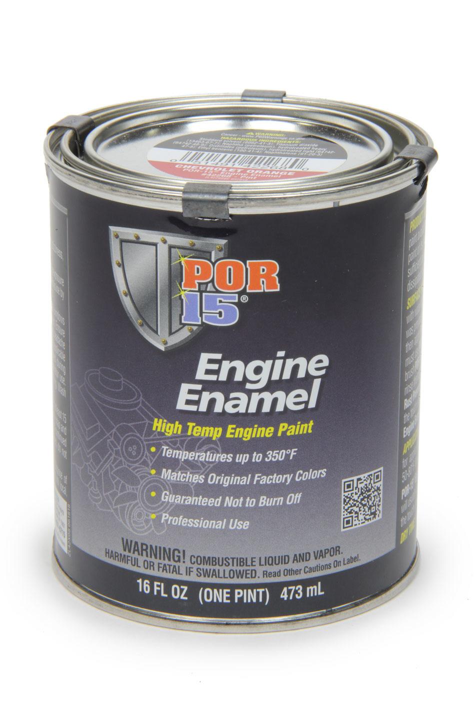 Engine Enamel Chevy Oran ge  Pint