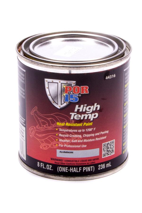 High Temperture Paint Flat Black 8oz