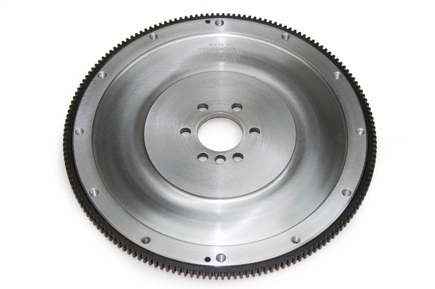 PRW Industries 1634680 Flywheel, 168 Tooth, 24.45 lb, SFI 1.1, Steel, Internal Balance, 1 Piece Seal, GM LS-Series, Each