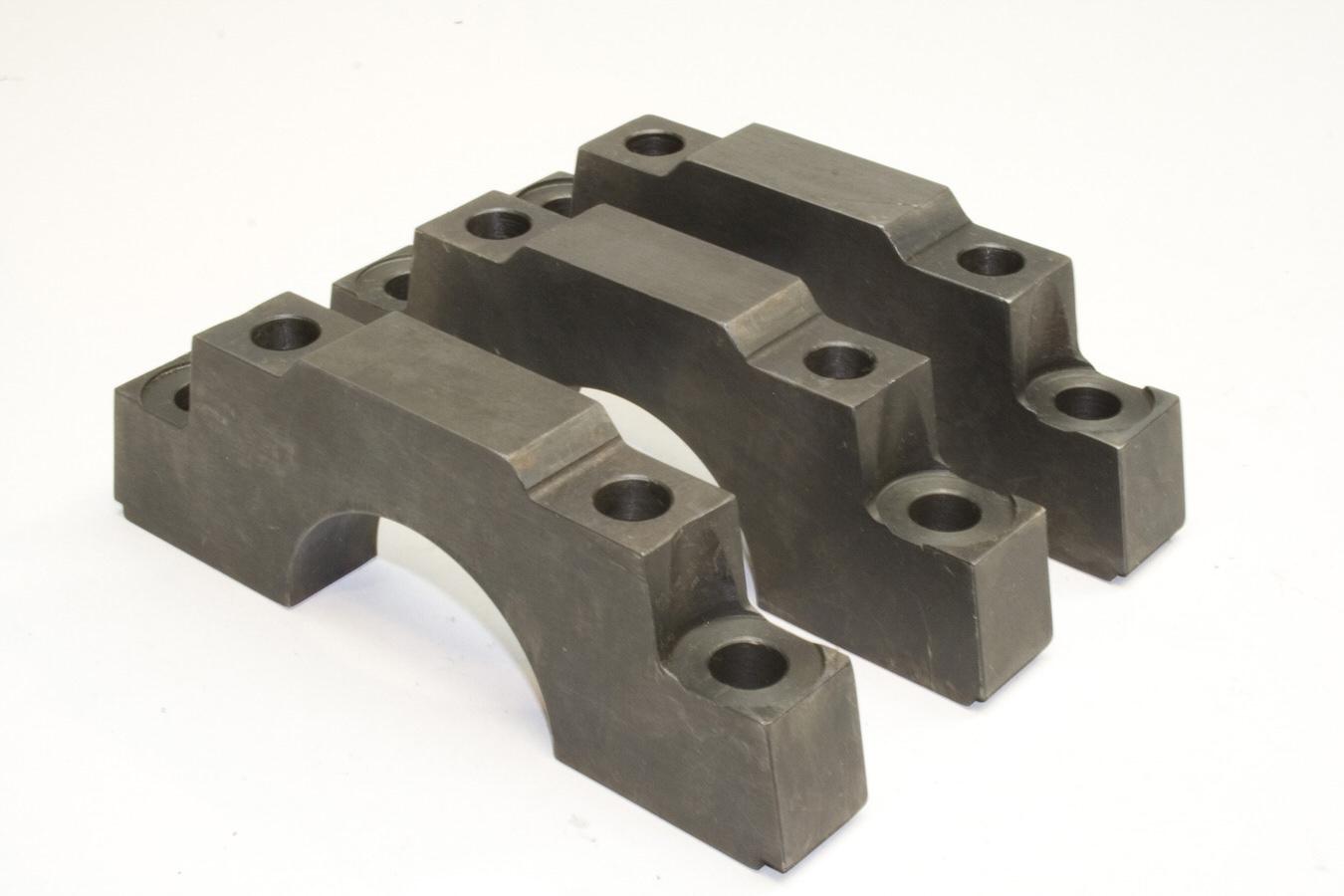 PRW Industries 1735001 Main Cap, 4-Bolt, Center Caps, Straight Bolts, Steel, 350 Journal, Small Block Chevy, Kit