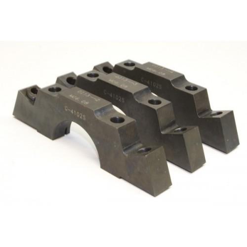 PRW Industries 1735002 Main Cap, 4-Bolt, Center Caps, Splayed Bolts, Steel, 350 Journal, Small Block Chevy, Kit