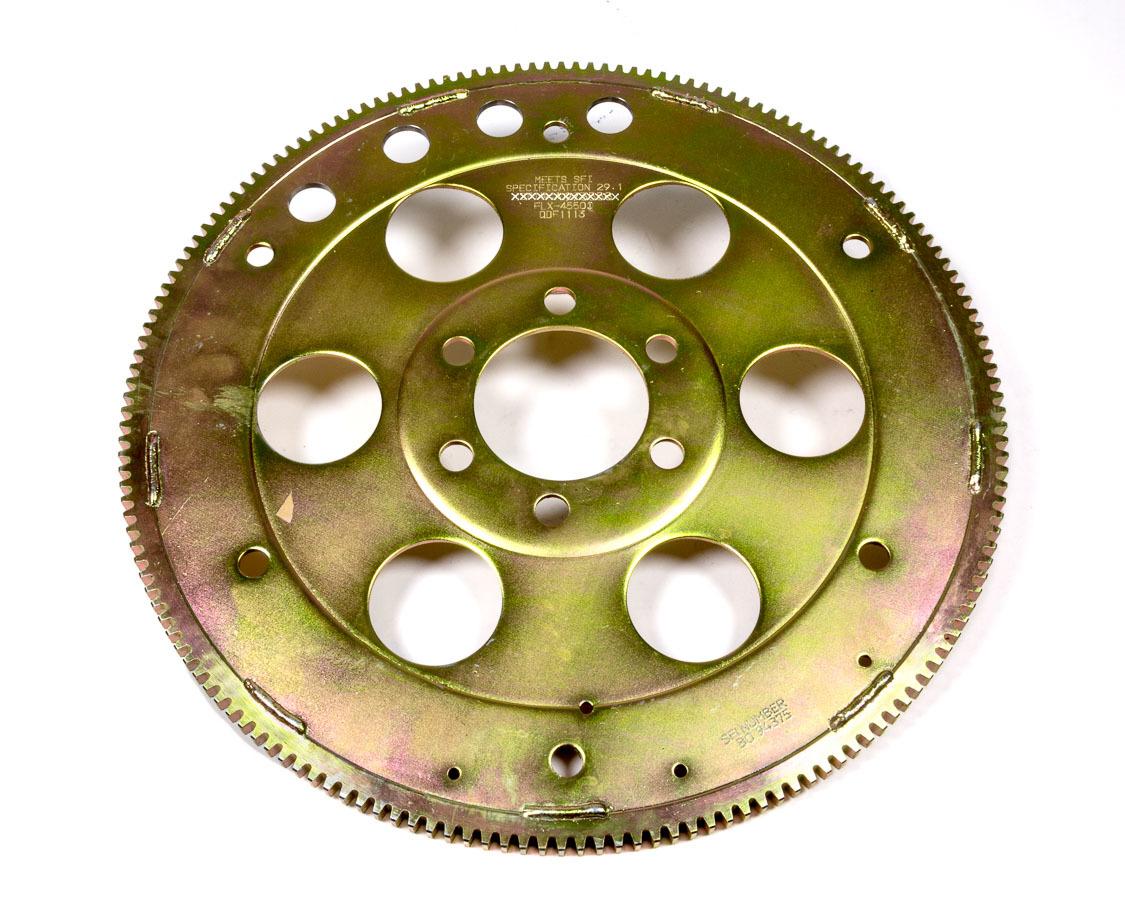 PRW Industries 1845500 Flexplate, Gold Series, 166 Tooth, SFI 29.1, Chromoly, External Balance, 2 Piece Seal, Pontiac V8, Each