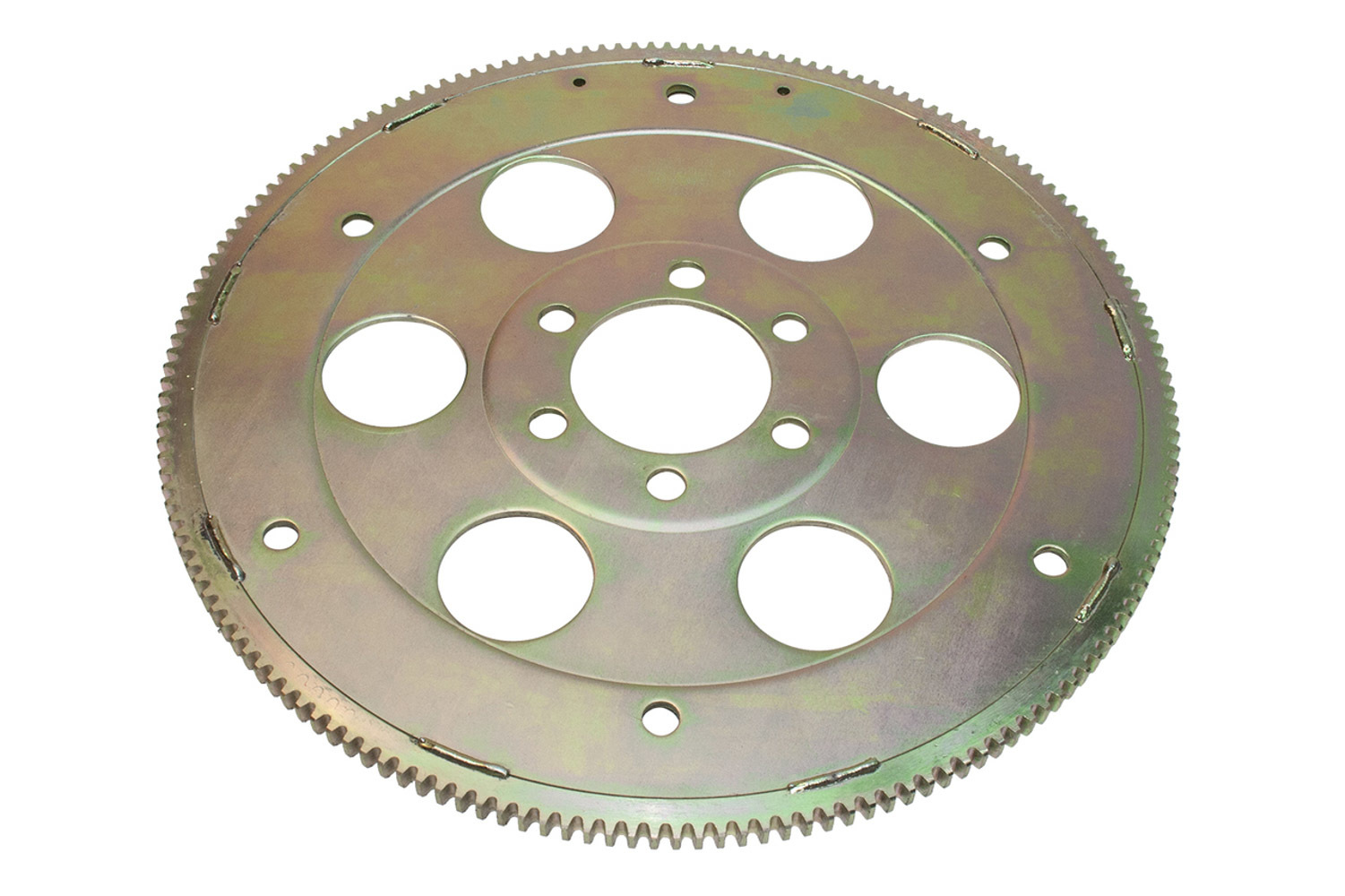 PRW Industries 1845501 Flexplate, 166 Tooth, SFI 29.1, Chromoly, Cadmium, Internal Balance, Pontiac V8, Each