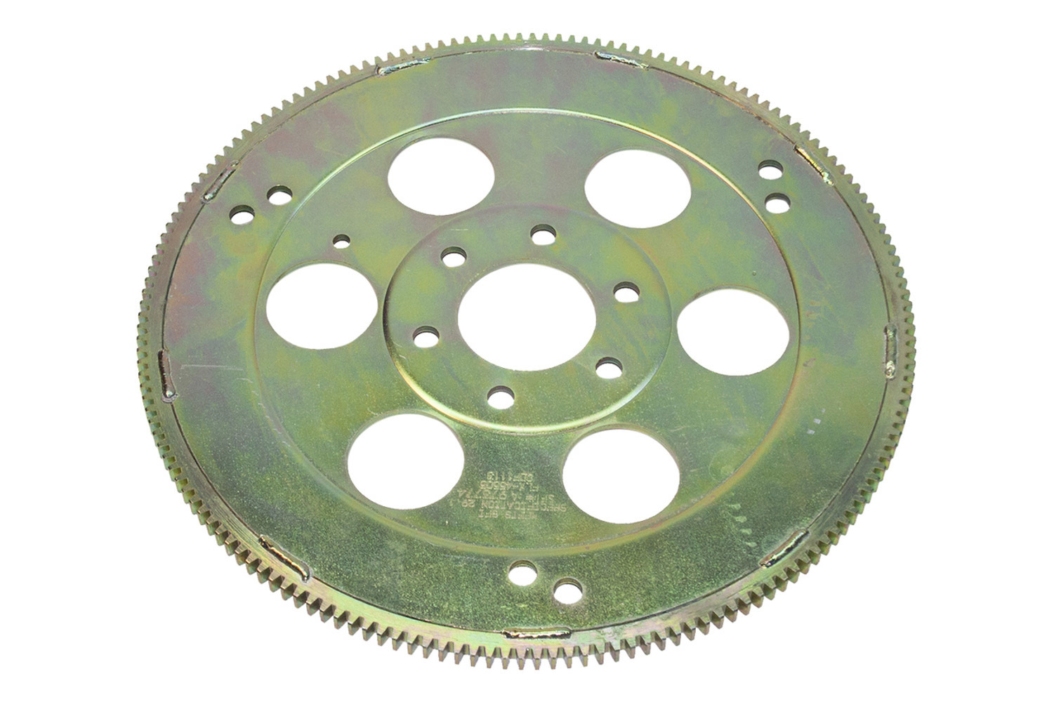 PRW Industries 1845505 Flexplate, 166 Tooth, SFI 29.1, Chromoly, Cadmium, External Balance, Oldsmobile V8, Each