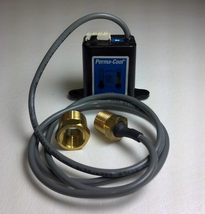 Perma Cool 21276 Fan Controller, Adjustable, 170-210 Degree F Activation Range, 3/8 in NPT Temperature Sensor, Harness, Kit