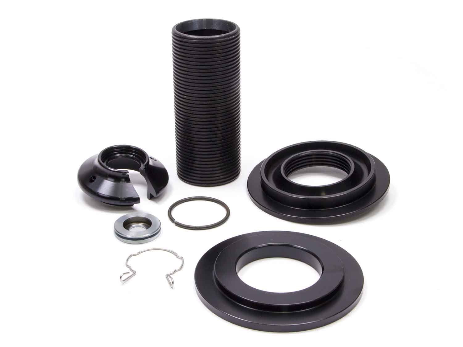 Pro Shock C327WB Coil-Over Kit, 5.000 in ID Spring, 5.5 in Sleeve, Aluminum, Black Anodized, WB-Series Pro Shock, Kit