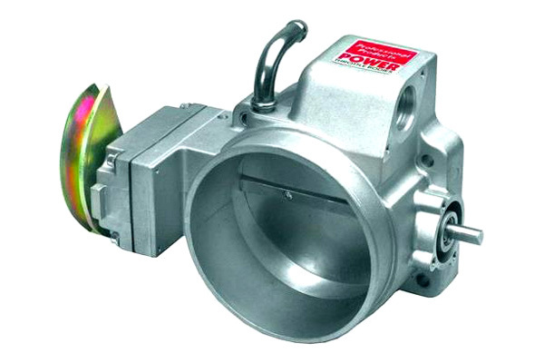 Professional Products 69729 Throttle Body, Stock Flange, 96 mm Single Blade, Aluminum, Natural, GM LS-Series, Each