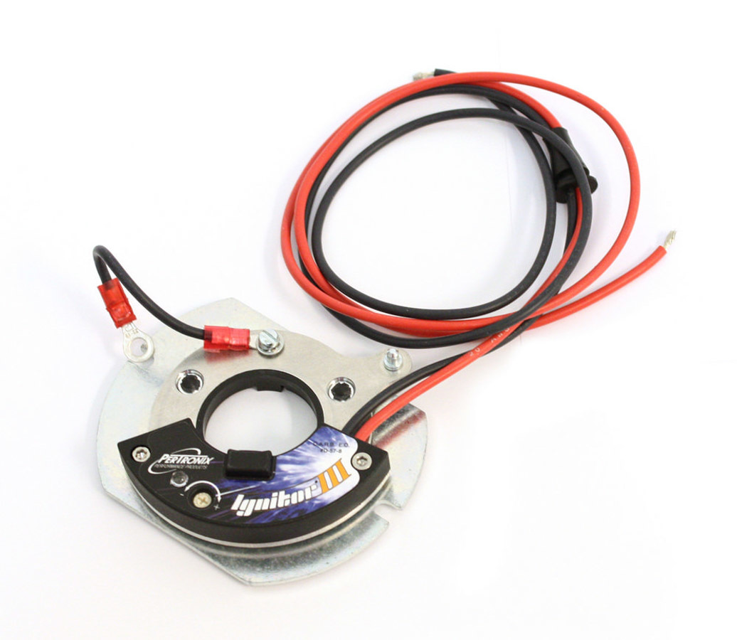 Pertronix Ignition 7HO-181 Ignition Conversion Kit, Ignitor III, Points to Electronic, Magnetic Trigger, IHC 8-Cylinder / Holley Gold Box Distributors, Kit
