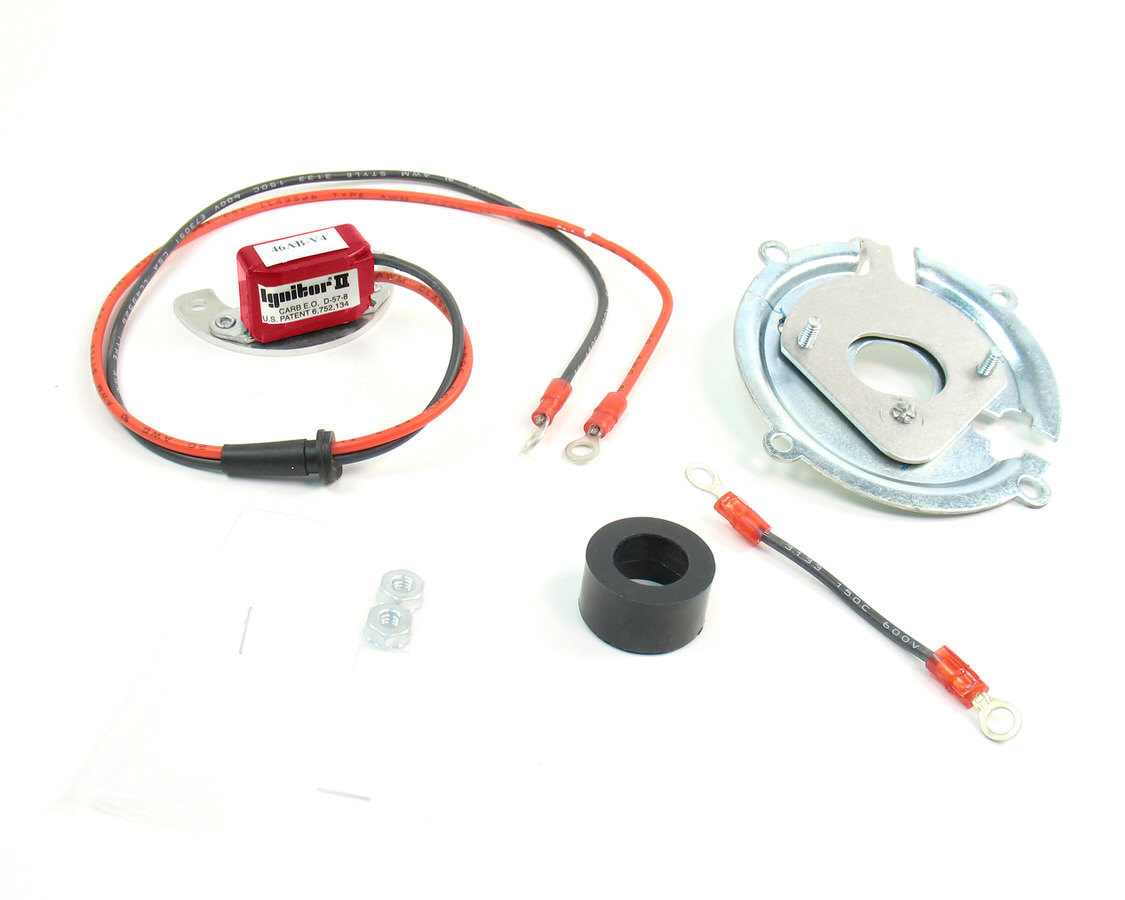 Pertronix Ignition 91144A Ignition Conversion Kit, Ignitor, Points to Electronic, Hall Effect, 12 Volt Positive Ground, Delco 4-Cylinder, Kit