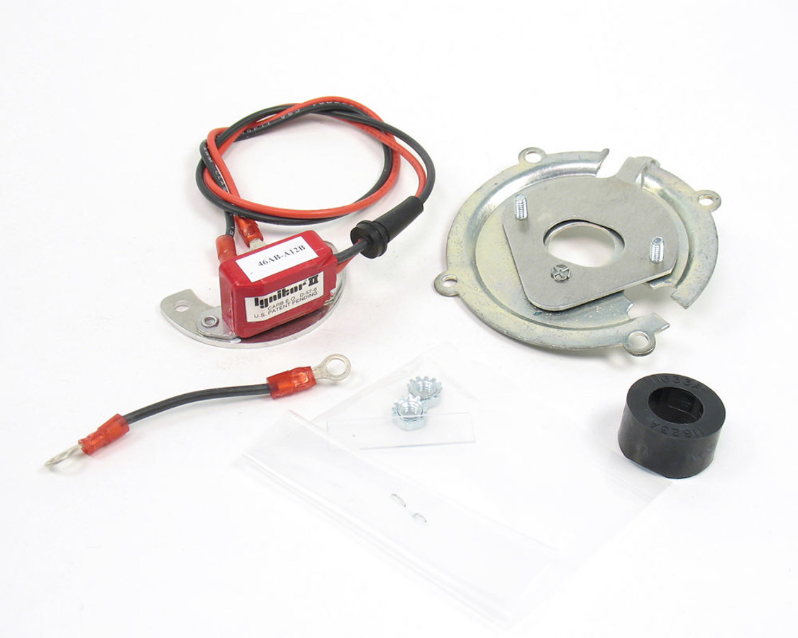 Pertronix Ignition 91162A Ignition Conversion Kit, Ignitor II, Points to Electronic, Magnetic Trigger, AMC / Checker / Dyna / GM / IHC / Jeep / Studebaker Inline-6, Kit