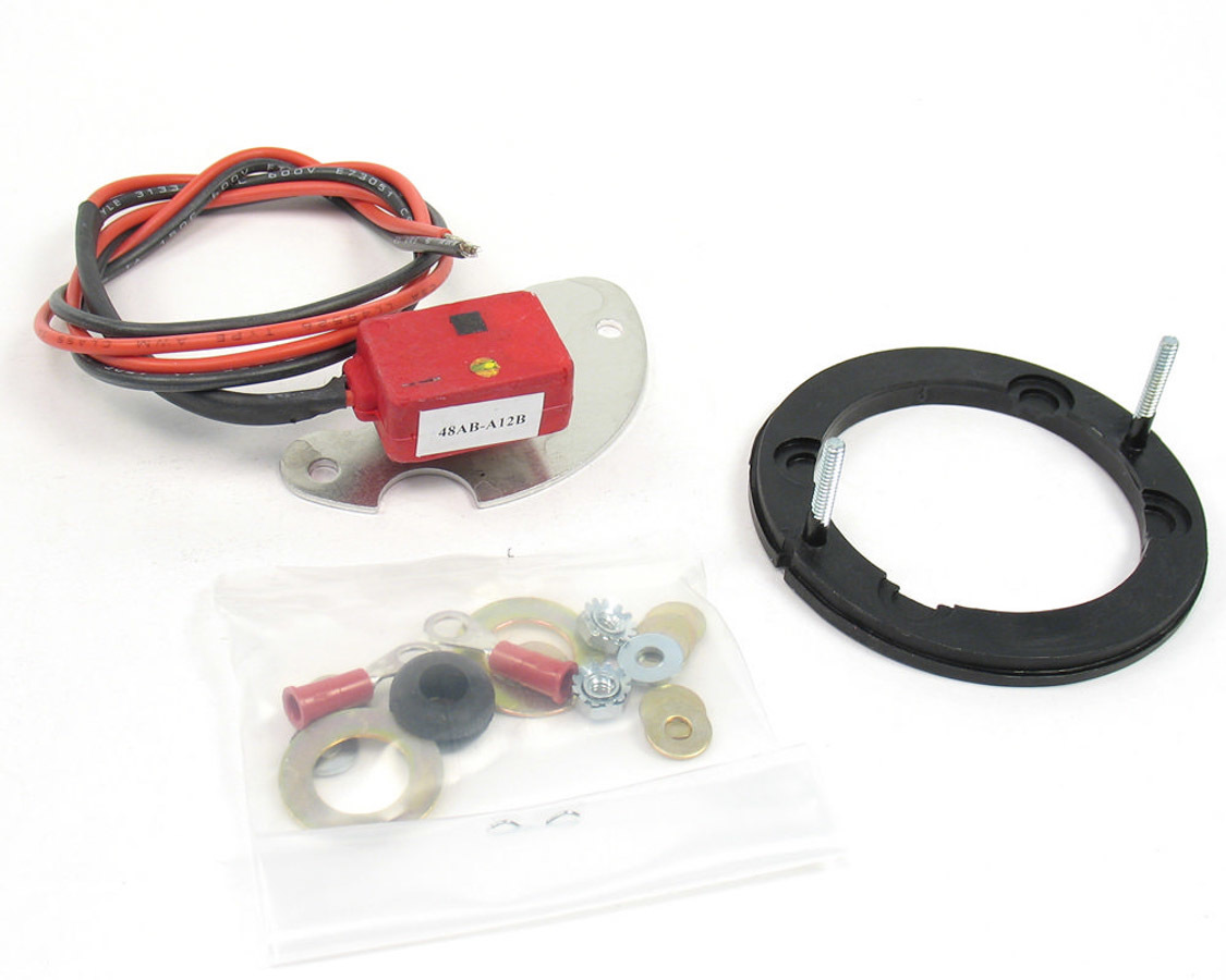 Pertronix Ignition 91181 Ignition Conversion Kit, Ignitor II, Points to Electronic, Magnetic Trigger, Various 8-Cylinder Applications, Kit