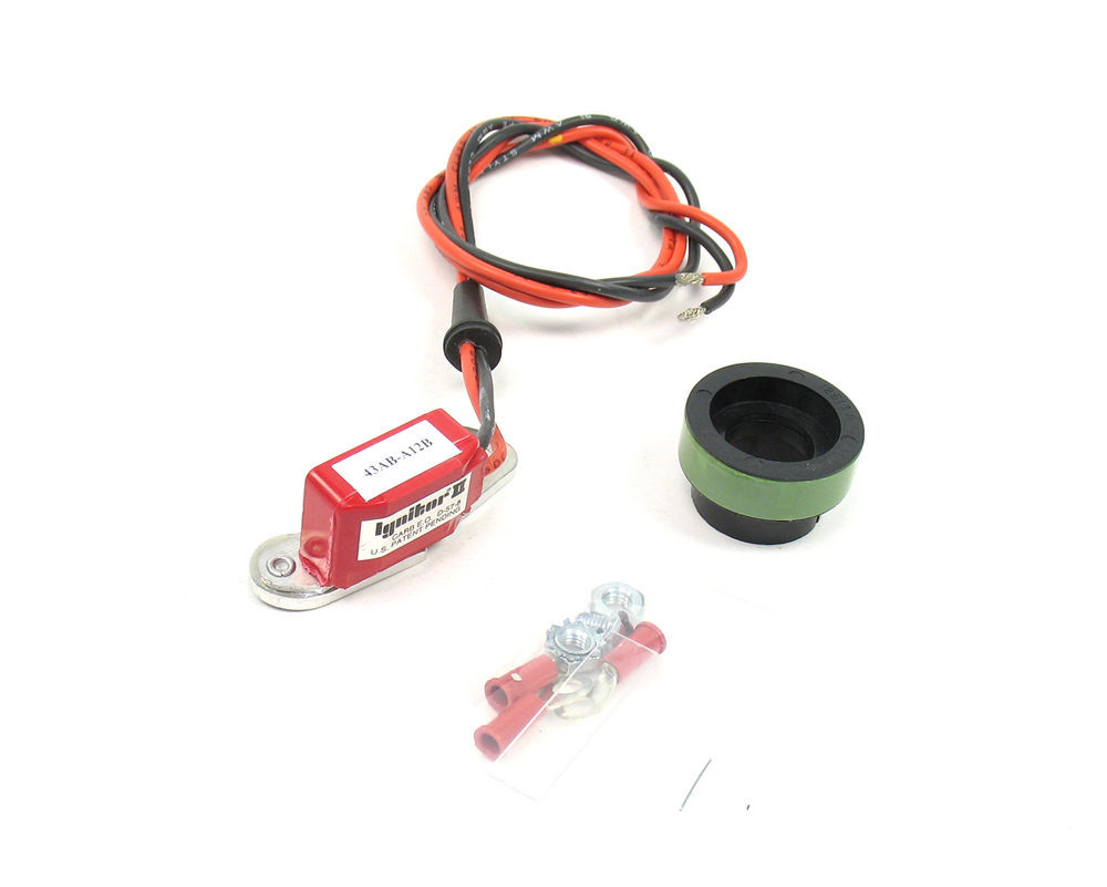 Pertronix Ignition 91266 Ignition Conversion Kit, Ignitor II, Points to Electronic, Magnetic Trigger, Ford 6-Cylinder, Kit