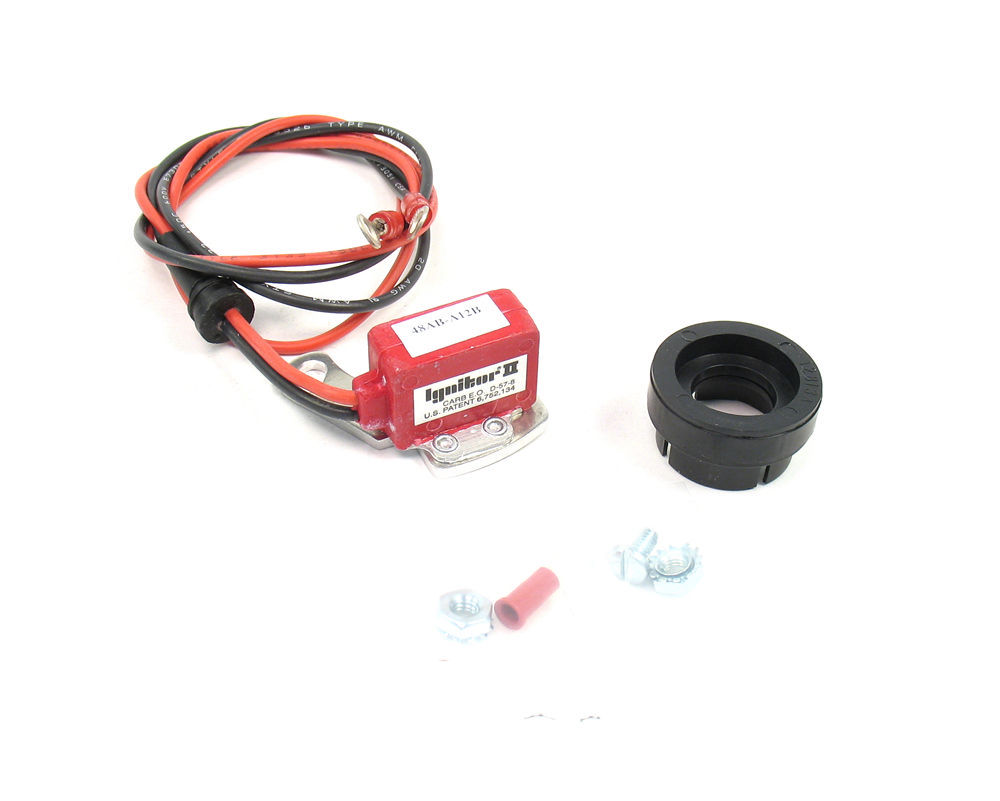 Pertronix Ignition 91281 Ignition Conversion Kit, Ignitor II, Points to Electronic, Magnetic Trigger, Various Motorcraft Distributors, Kit
