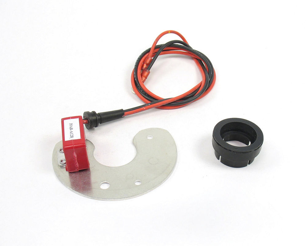 Pertronix Ignition 91281DV Ignition Conversion Kit, Ignitor II, Points to Electronic, Magnetic Trigger, Vacuum Advance, Ford 8-Cylinder, Kit