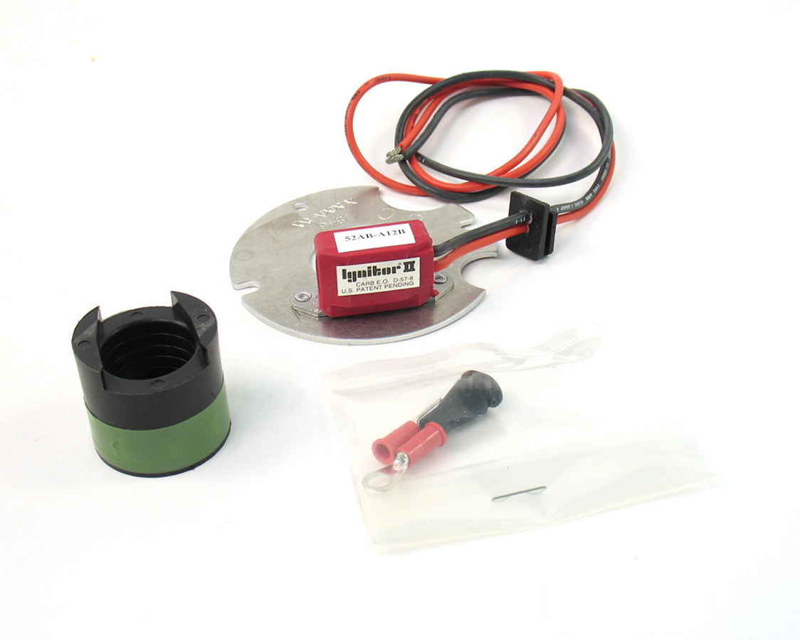 Pertronix Ignition 91546 Ignition Conversion Kit, Ignitor II, Points to Electronic, Magnetic Trigger, Autolite / Prestolite 4-Cylinder Distributors, Kit