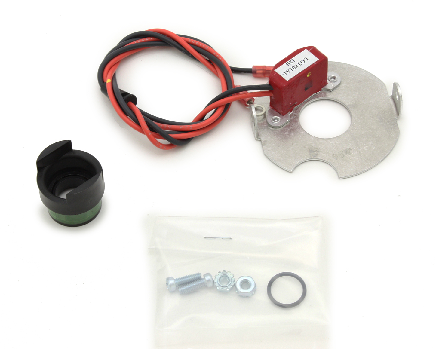 Pertronix Ignition 91562 Ignition Conversion Kit, Ignitor II, Points to Electronic, Magnetic Trigger, Various 6-Cylinder Applications, Kit