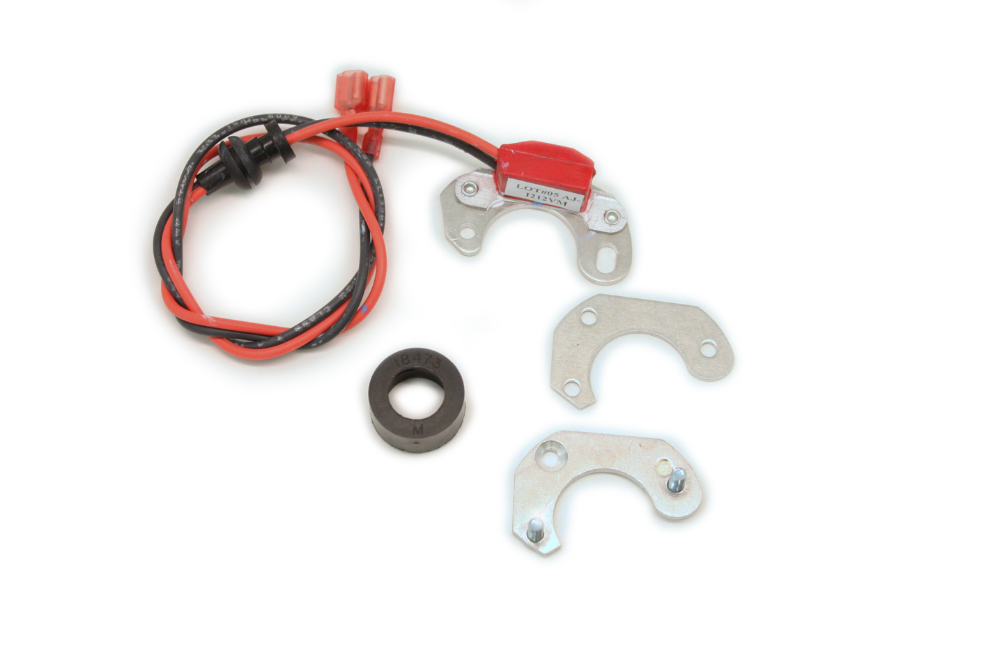 Pertronix Ignition 91847V Ignition Conversion Kit, Ignitor II, Points to Electronic, Magnetic Trigger, Bosch 4-Cylinder Distributors, Kit