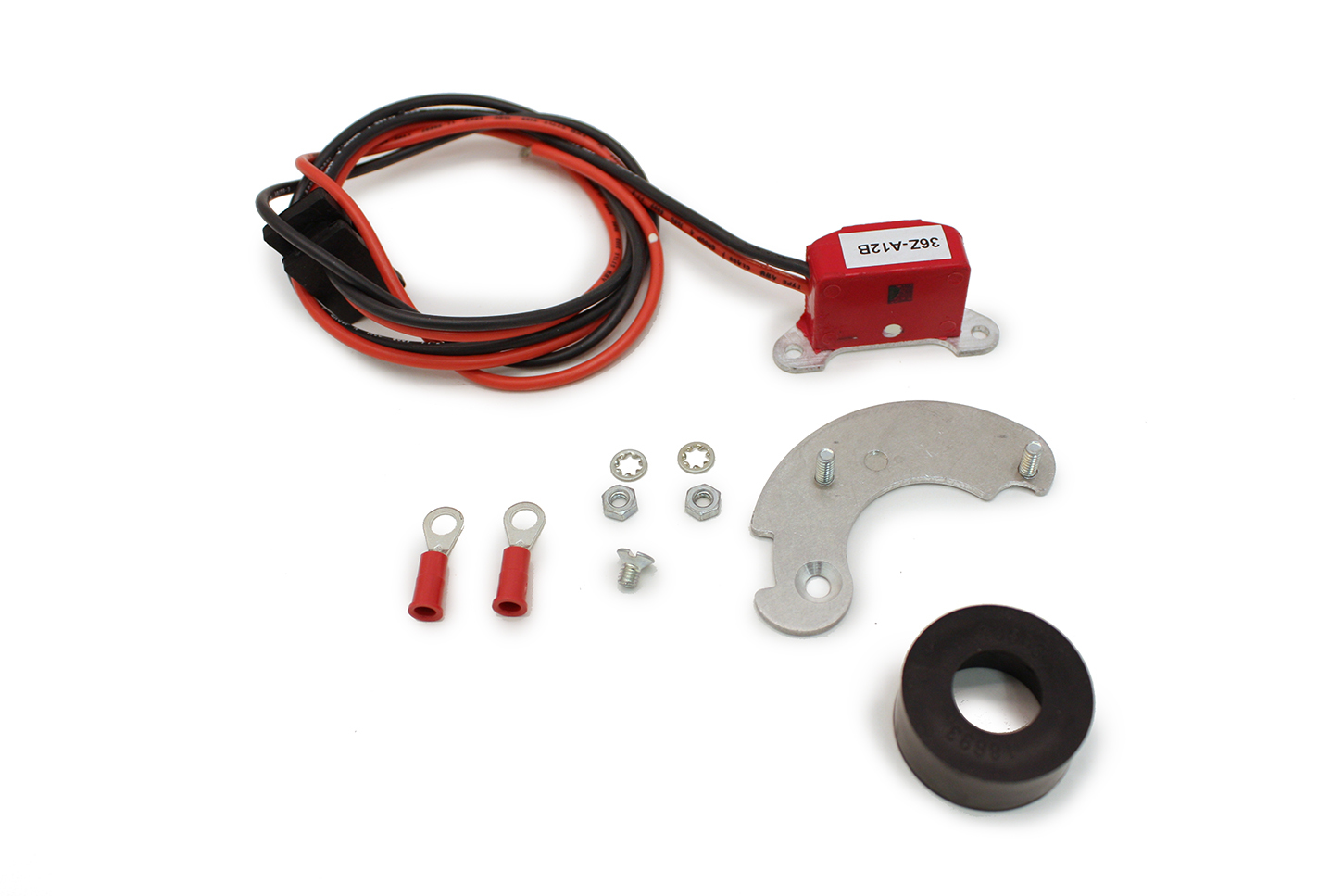 Pertronix Ignition 91868 Ignition Conversion Kit, Ignitor II, Points to Electronic, Magnetic Trigger, Bosch 6 Cylinder, Kit