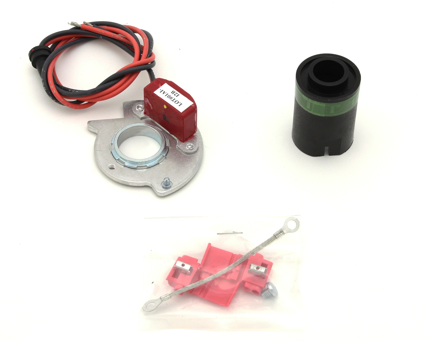 Pertronix Ignition 9FO-182 Ignition Conversion Kit, Ignitor II, Points to Electronic, Magnetic Trigger, Ford / Lincoln / Mercury V8, Kit