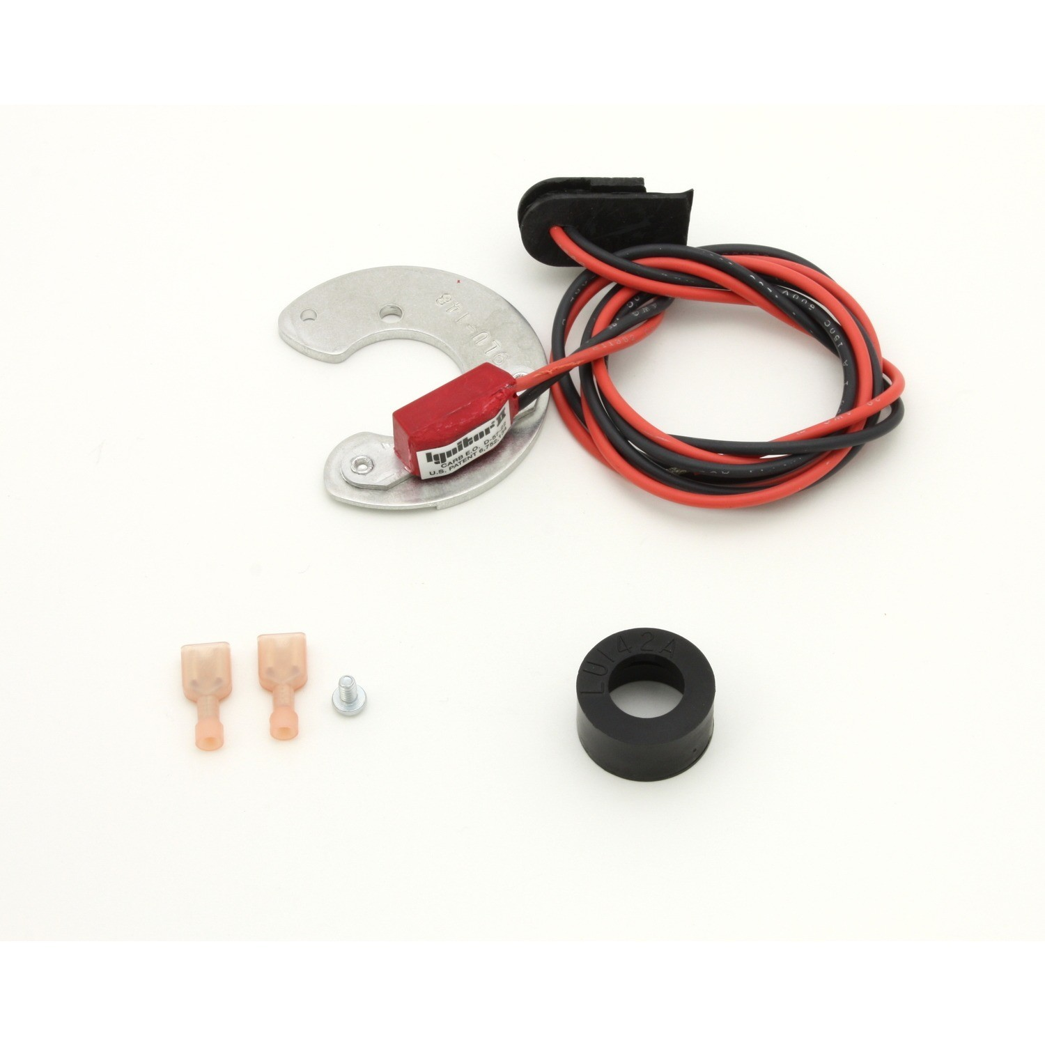 Pertronix Ignition 9LU-148 Ignition Conversion Kit, Ignitor II, Points to Electronic, Magnetic Trigger, Lucas 23D4, 4-Cylinder Distributors, Kit