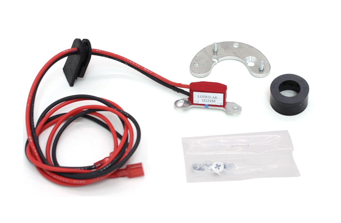 Pertronix Ignition 9LU-166A Ignition Conversion Kit, Ignitor II, Points to Electronic, Magnetic Trigger, Lucas 6-Cylinder, Kit