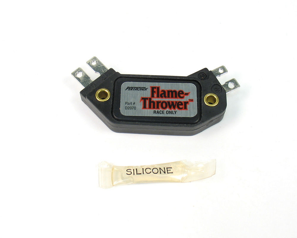 Pertronix Ignition D2070 Ignition Control Module, Flame Thrower, GM HEI 4 Pin, Each