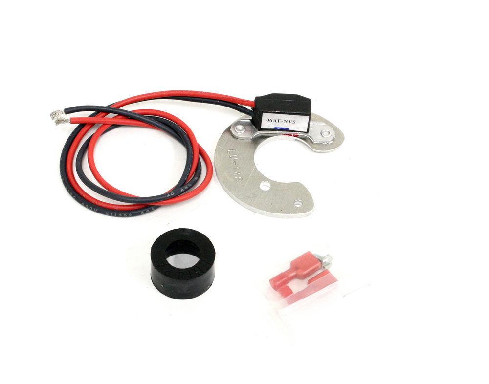 Pertronix Ignition LU-148 Ignition Conversion Kit, Ignitor, Points to Electronic, Magnetic Trigger, Various 4-Cylinder Applications, Kit
