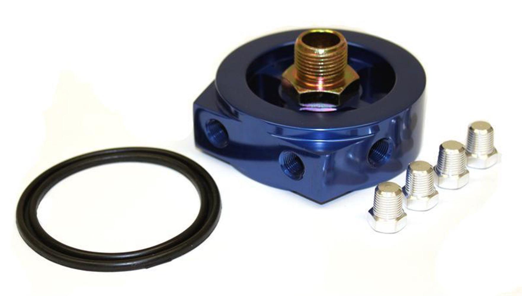 ProSport Gauges PSOPOT-3/4UNF16 Oil Filter Adaptor Plate Nissan  VW  Porsche BMW