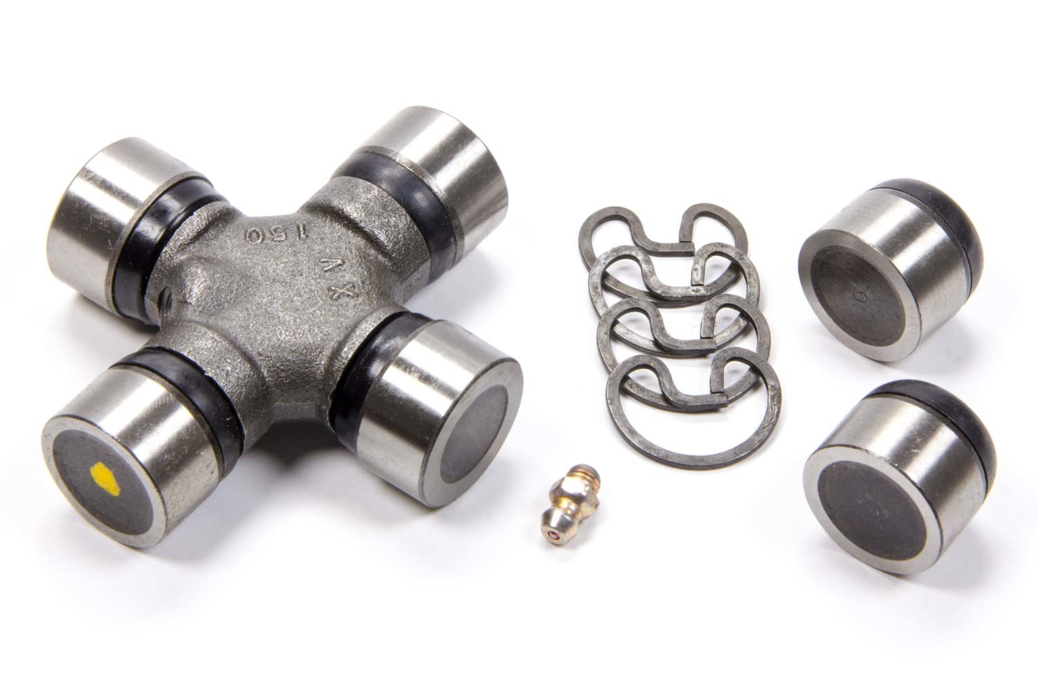 Precision Shaft Technologies 100310 Universal Joint, 1310 to 1330 Series, Greasable, Steel, Natural, Each