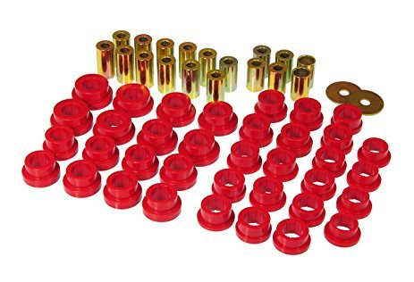 Prothane 14-307 Control Arm Bushing, Rear, Lower, Polyurethane, Red, Infiniti G35 2003-07, Kit