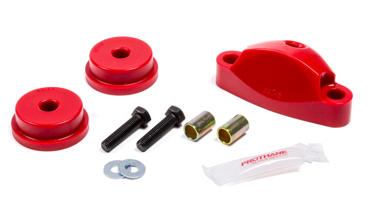 Prothane 16-1602 Shifter Bushing, Stabilizer, Polyurethane, Red, Subaru Impreza WRK 1997-2011, Kit