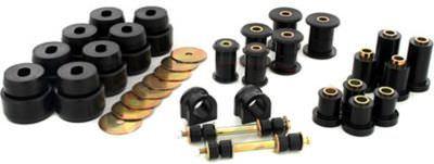 Prothane 7-2046BL Bushing Kit, Body Mount / Endlink / Suspension Bushings, Polyurethane, Black, GM Fullsize Truck 2007-14, Kit