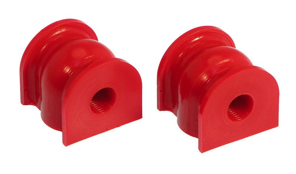 Prothane 8-1134 Sway Bar Bushing, Rear, Non-Greasable, 12 mm Bar, Polyurethane, Red, Honda Civic 2001-05, Pair