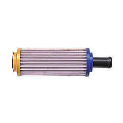 Peterson Fluid 09-1480 Fuel Filter, In-Tank, Straight, 45 Micron, Stainless Element, 3/4 in Hose Barb, Stainless, Each