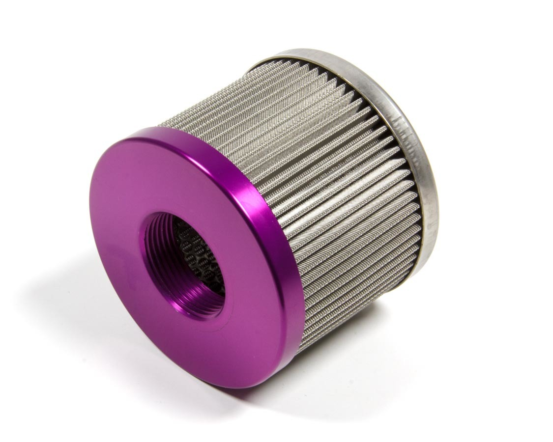 Peterson 19-5100 Oil Filter Element, 100 Micron, Stainless Element Screen, Peterson 8-16 AN 400 Series Filters, Each