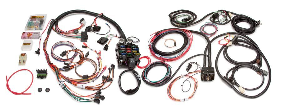 Painless Wiring 10150 Car Wiring Harness, Direct Fit, Complete, 21 Circuit, Jeep CJ 1976-86, Kit