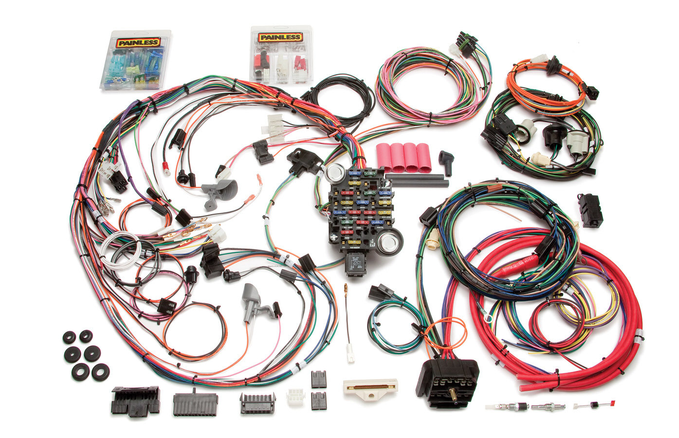 Painless Wiring 20112 Car Wiring Harness, Direct Fit, Complete, 26 Circuit, Chevy Camaro 1970-73, Kit
