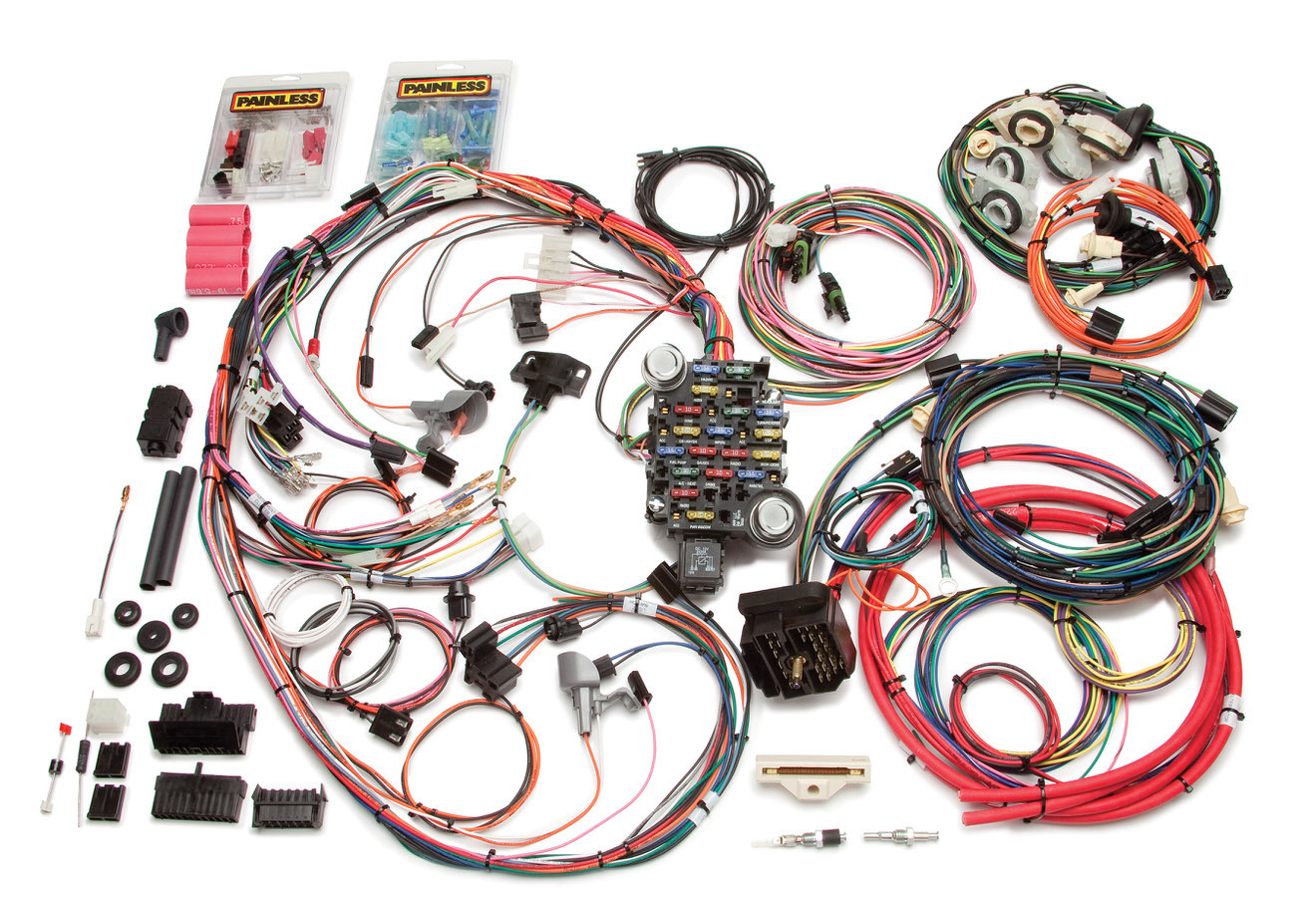 Painless Wiring 20114 Car Wiring Harness, Direct Fit, Complete, 26 Circuit, Chevy Camaro 1978-81, Kit