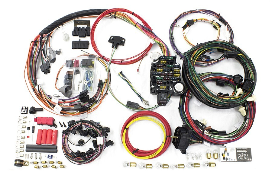 Painless Wiring 20129 Car Wiring Harness, Direct Fit, Complete, 26 Circuit, GM A-Body 1969, Kit