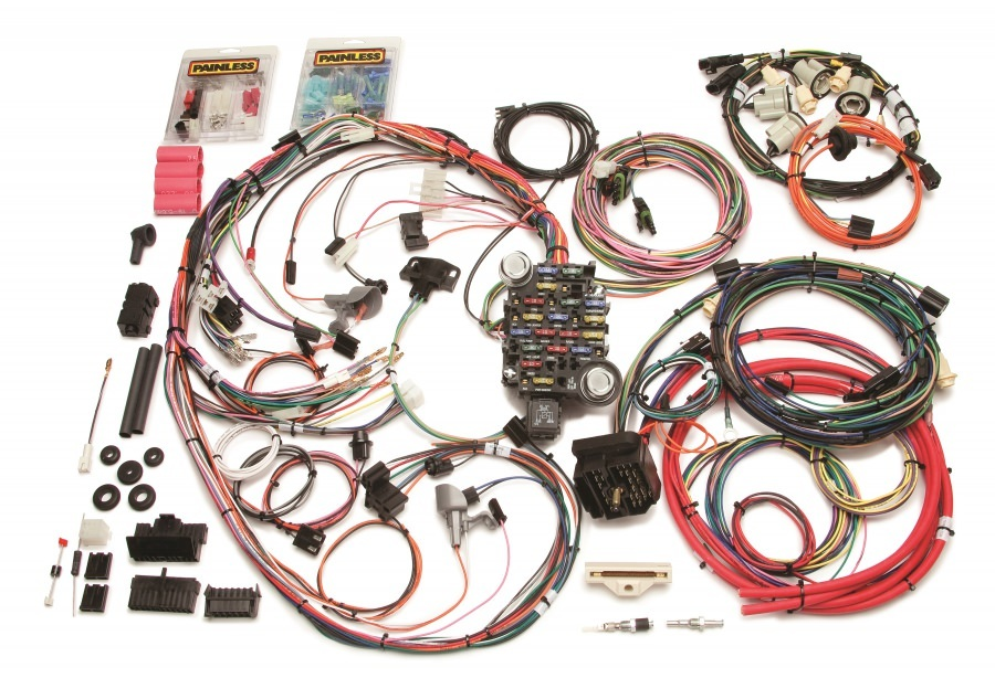 Painless Wiring 20202 Car Wiring Harness, Direct Fit, Complete, 26 Circuit, GM F-Body 1969, Kit