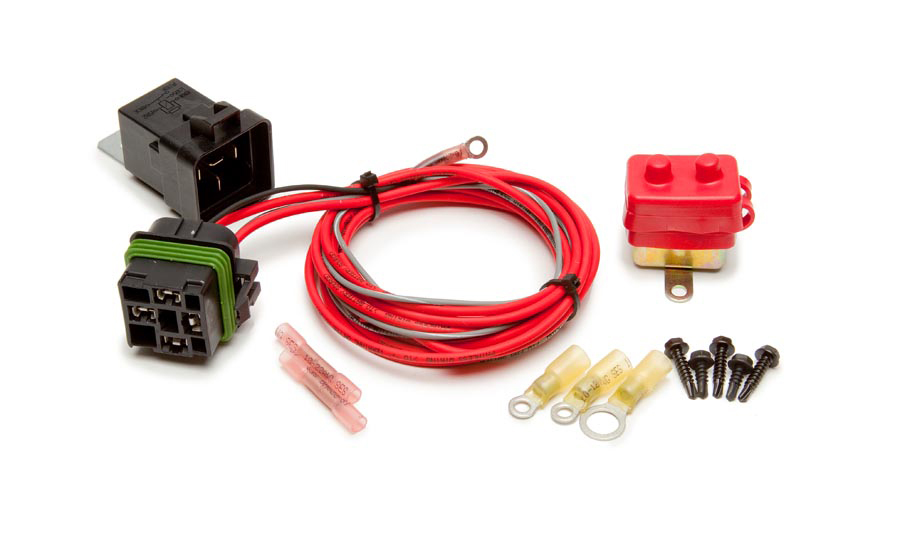 Painless Wiring 30130 Relay Switch, Weatherproof, Double Pole, 30 amp, 12V, Wiring Pigtail Included, Electric Cooling Fans, Kit