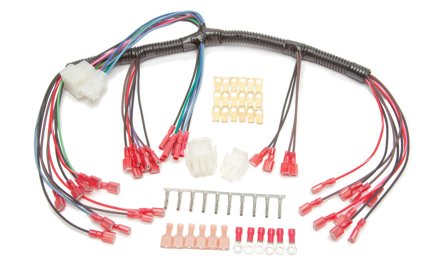 Painless Wiring 30301 Gauge Wiring Harness, High Beam / Turn Signal Indicator, Cable Driven Speedometer, Universal, Each