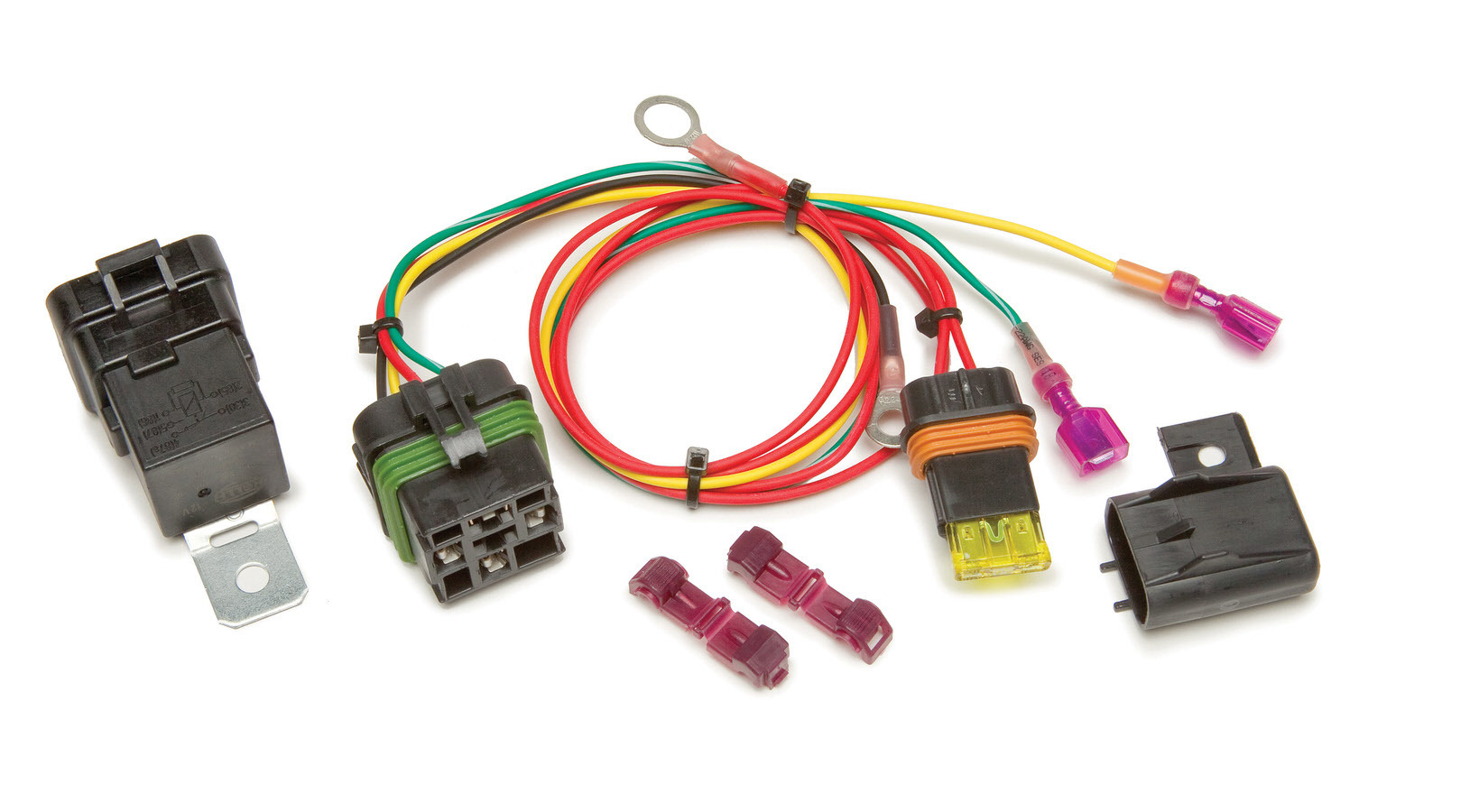 Painless Wiring 30822 High Beam Relay, Relay / Terminals / Wiring, GM Fullsize SUV / Truck 2003-06, Kit